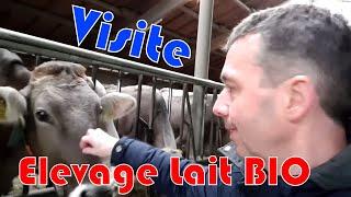 Visite d'une ferme laitière bio en Baviére