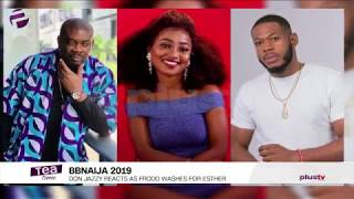 BBNAIJA 2019: Don Jazzy Reacts As Frodd Washes For Esther