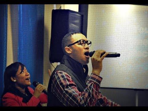 "Pastor Pierre sings ""Dwell Among Us"" (Finishers Church Worship 12.8.13)"