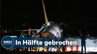BEINAHE-KATASTROPHE IN ISTANBUL: Flugzeug mit 177 Passagieren verunglückt bei der Landung
