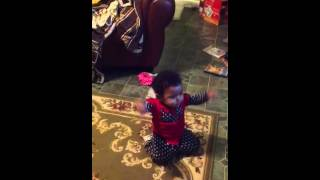 Coco Jones - Holla at the DJ 11 month old choreography