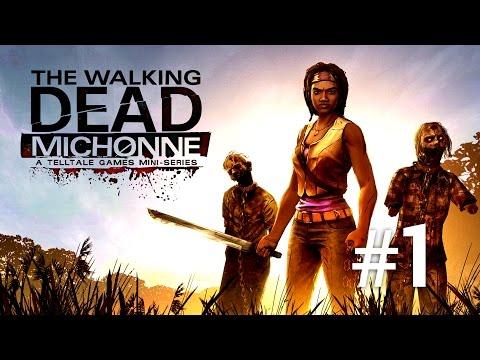The Walking Dead Michonne EP1 - Max fuge de zombie - Episodul 1