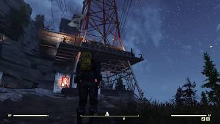 Fallout 76: Power Line Settlement Camp Build