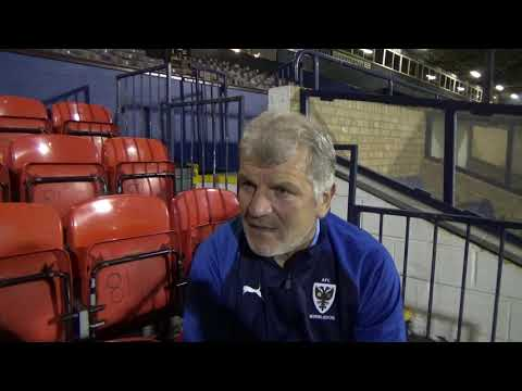 Glyn encouraged by 2nd half display from young Dons