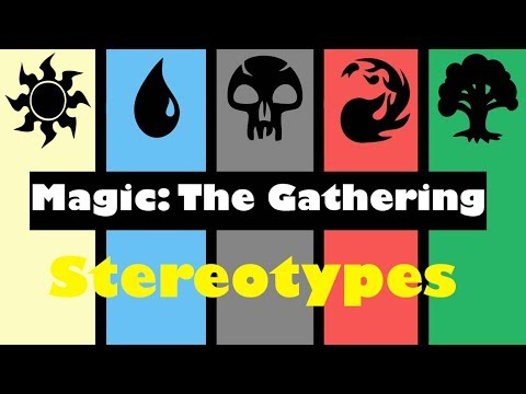 Magic The Gathering Stereotypes