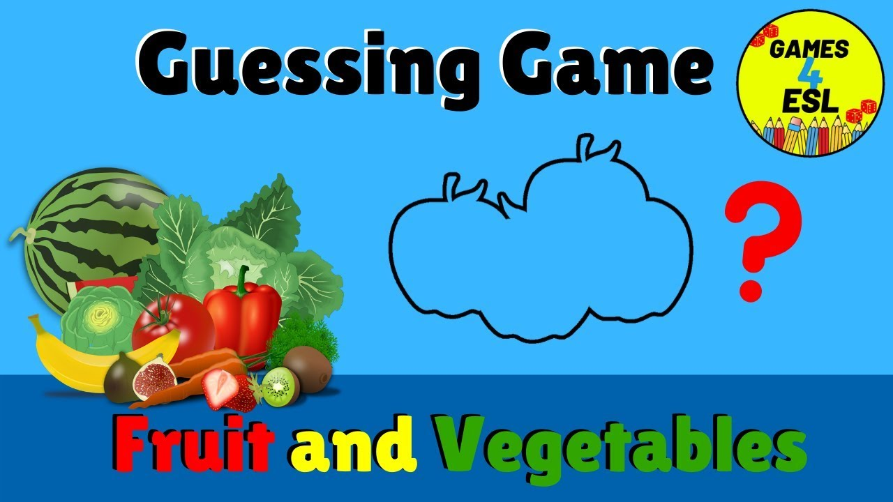 English Vocabulary Games For Kids | Fruit and Vegetables ...