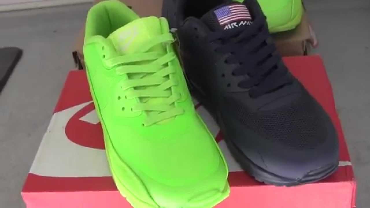 Nike air max 90 .ナイキエアマックス90イエローとブルースニーカー!