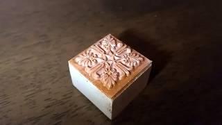 DIY | Block Print Kurti | Gold & Copper Coloured Pattern