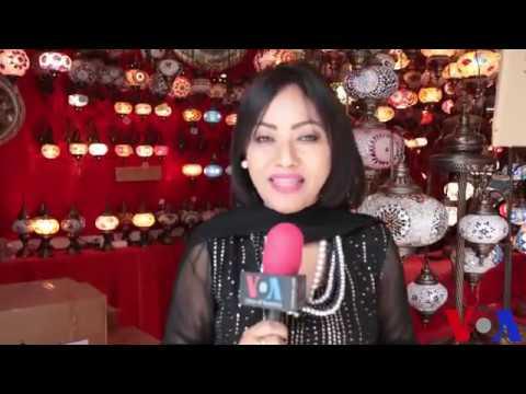 Nasrin Huda Bithi / Voice of America Report / Banijjo Mela /International trade fair 2018