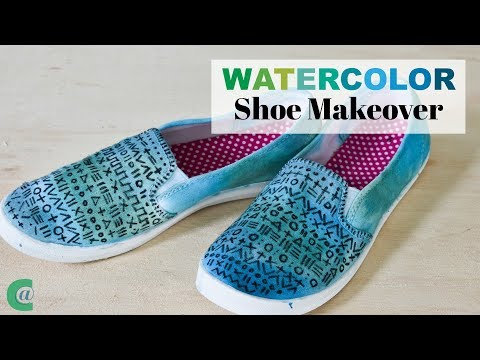 How to Makeover Cheap Shoes