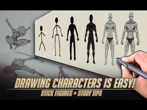 Drawing characters is easy!