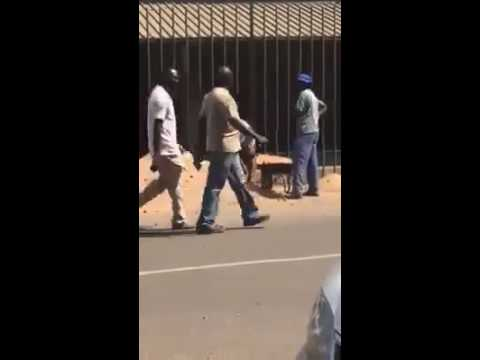 Funniest and Most Stupid Construction Worker From South Africa