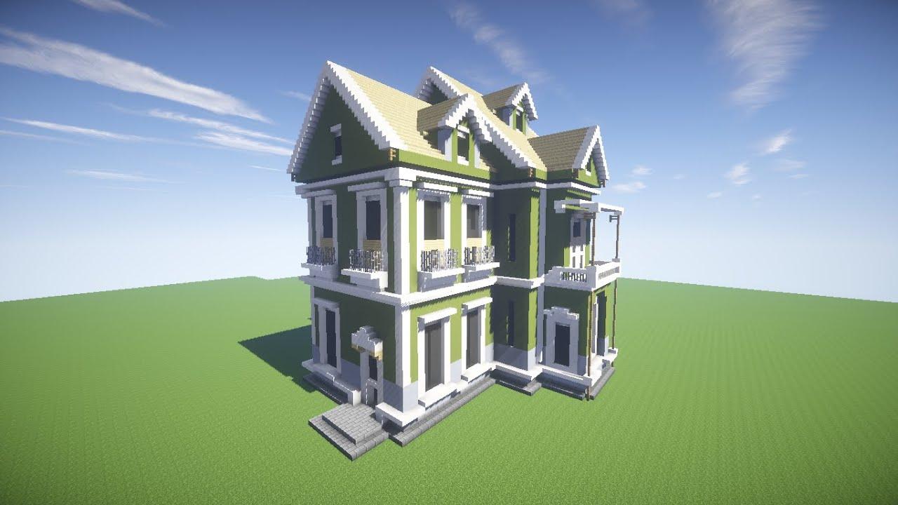 #335B98 Minecraft Como Fazer uma Casa lecau parte 1   1366x768 píxeis em Criar Casas 3d