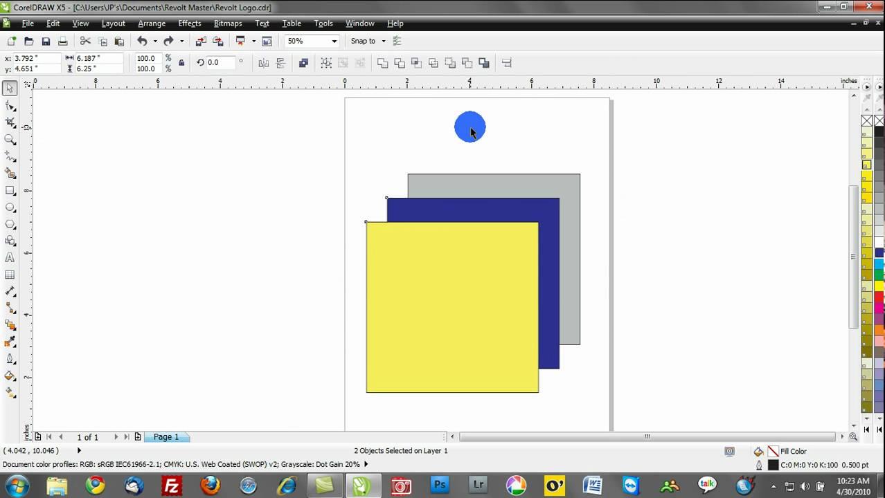 corel draw x5 free tutorial pdf