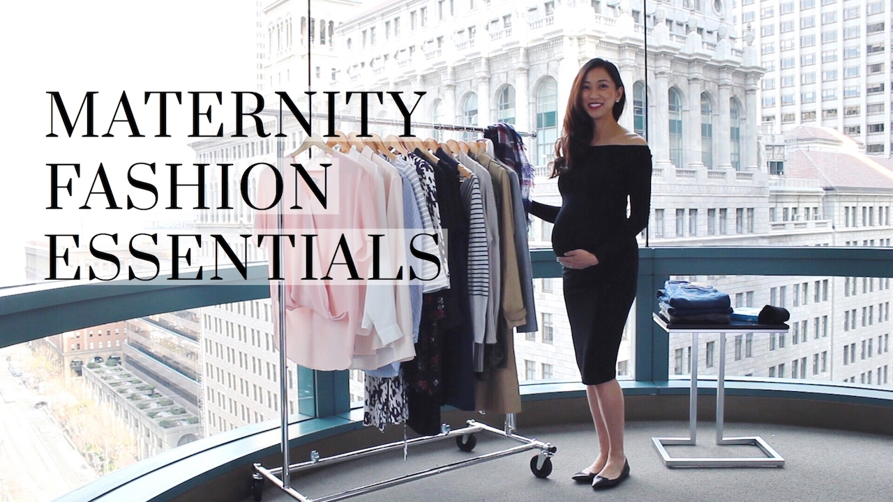 Maternity Clothing Essentials to Get You Through All Three Trimesters Maternity Style There's a terrible myth out there that says you have to spend a fortune on maternity clothes in order to not look frump-tastic throughout your pregnancy.