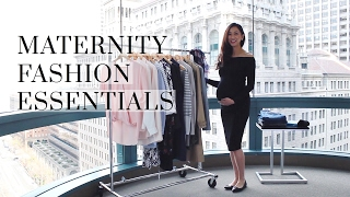 Maternity Fashion Essentials For Entire Pregnancy, maternity, pregnancy, fashion essentials, styling the bump