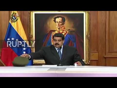 Venezuela: Maduro point fingers at opposition for drone attack