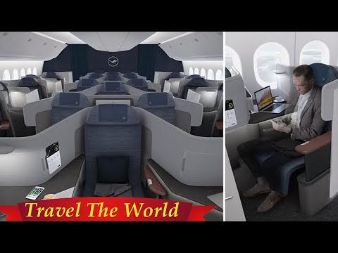 Lufthansa's new throne-style 777-9 business class seats  - Travel Guide vs Booking