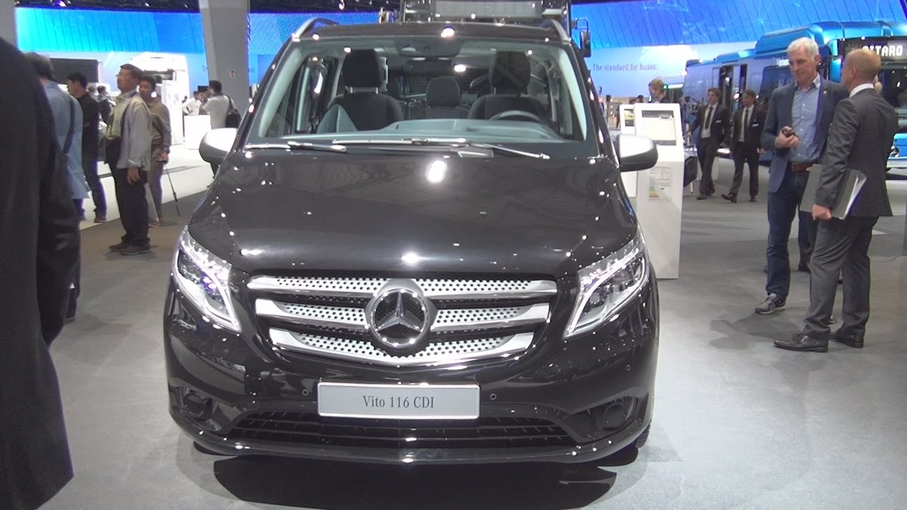 mercedes benz vito tourer edition 116 cdi combi van 2017 exterior and interior in 3d