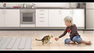 видео Достоинства напольного покрытия Арт Винил и как его установить