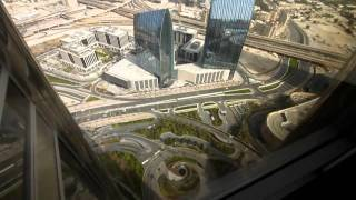 Burj Khalifa interior video, Downtown Dubai , February 2011