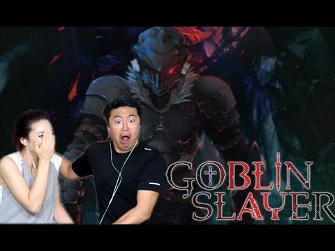 GOBLIN SLAYER EPISODE 1 BLIND REACTION!