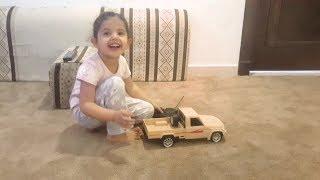فاجأتهم بالعاب سيارات | هدايا العيد