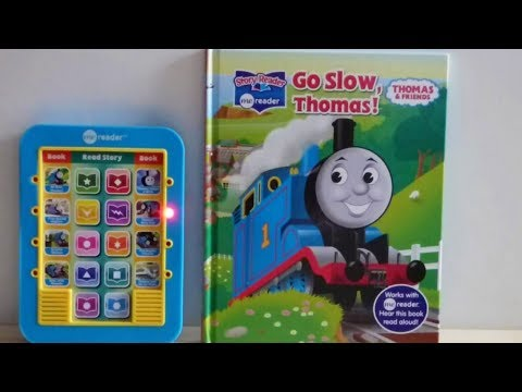 Thomas And Friends, Go Slow Thomas-MeReader.Story Reader Book.