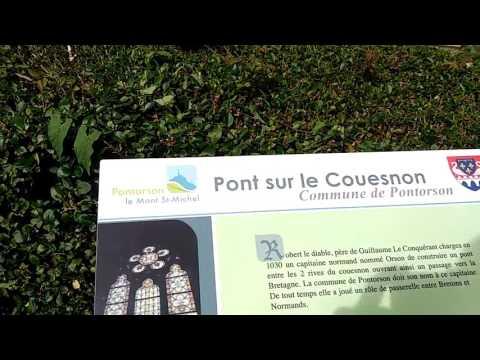 Mont St Michel : histoire de Pontorson