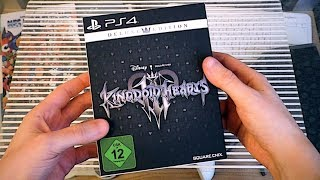 Ausgepackt! #157 ~ Kingdom Hearts III Deluxe Edition PS4 (Unboxing)