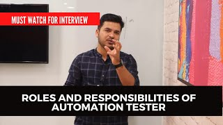 How To Explain Roles And Responsibilities Of Automation Tester - Selenium screenshot 4