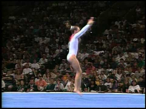Mary Beth Arnold - Floor Exercise - 1996 Olympic Trials - Women - Day 2