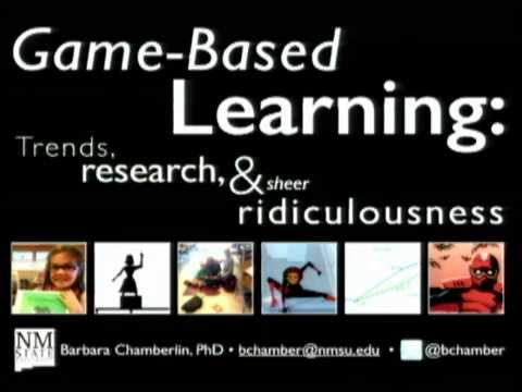 Game-Based Learning: Trends, Research, and Sheer Ridiculousness