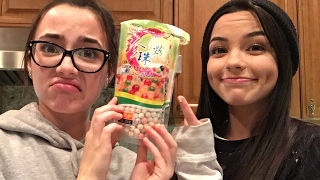 Making Bubble Tea - Merrell Twins thumbnail