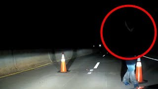 5 SCARIEST Things Caught At Night!