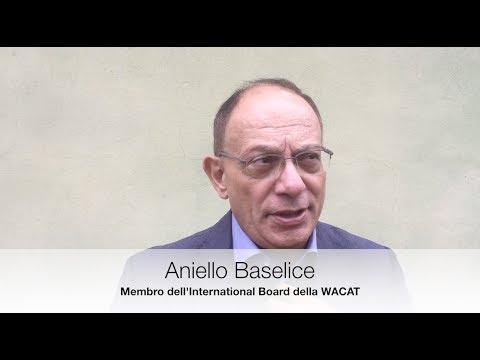 Aniello Baselice, membro International Board WACAT - Congresso AICAT 2017