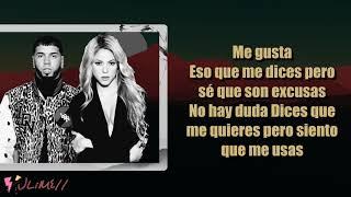 Me Gusta - Shakira, Anuel AA (Letra) 4k