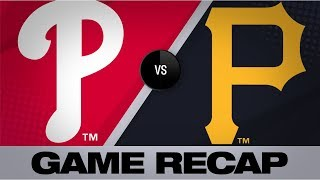 Hoskins' go-ahead homer propels Phillies | Phillies-Pirates Game Highlights 7/21/19