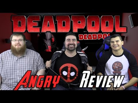 Deadpool Angry Movie Review