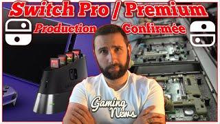 Nintendo Switch PRO / PREMIUM 🔥 Production CONFIRMEE 🔥