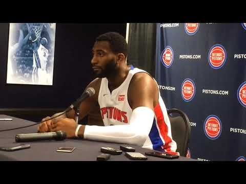 Pistons' Andre Drummond discusses need for improvement
