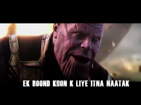 Avenger Infinity War Best Hindi Serious Dialogues | Top 5