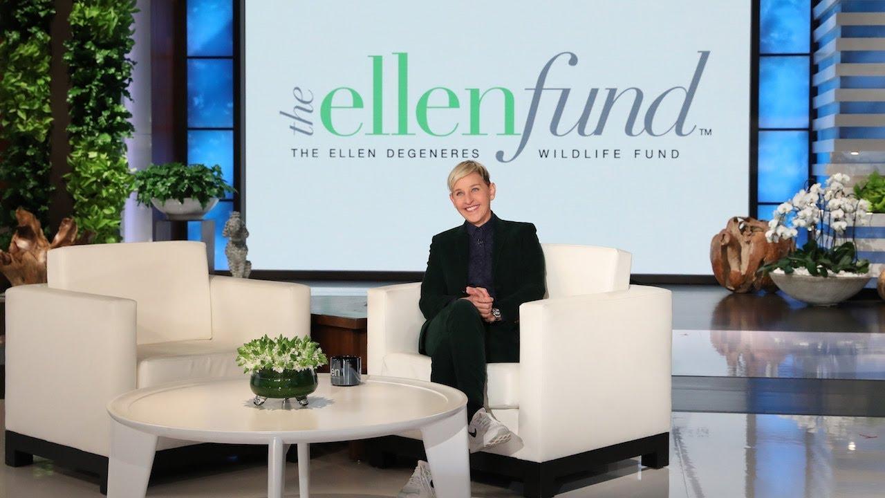 Ellen Has a Live Check-In with a Gorilla in Rwanda
