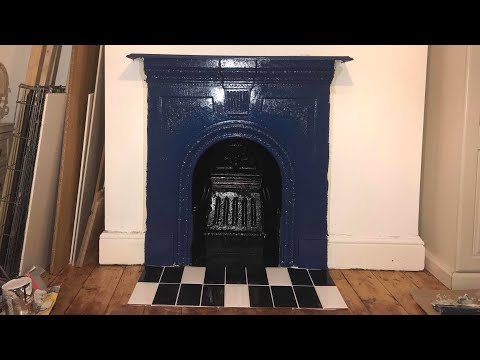 How to make an old fireplace a feature - Part 1