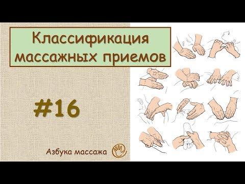 Уроки массажа - YouTube