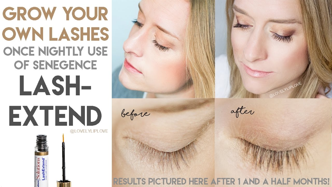 How To Apply Senegence Senederm Lashextend Makers Of