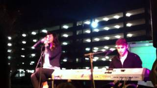 Karmin - Written in the Stars - Tinie Tempah (Cover) - LIVE at Vanderbilt 2011