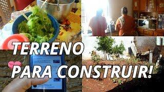 TERRENO PARA CONSTRUIR   ALMOÇO NA SOGRA