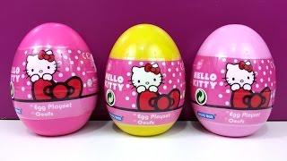 Surprise Eggs Hello Kitty Playset Thumbnail