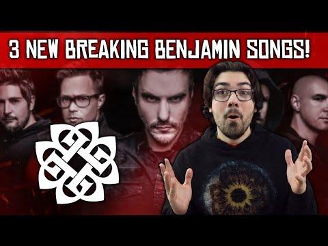 Breaking Benjamin New Album 2020 Two or Three New Breaking Benjamin Songs Confirmed for New 2019